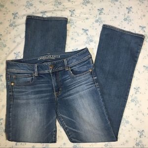 American Eagle Boot Super Stretch Jeans 12 Long